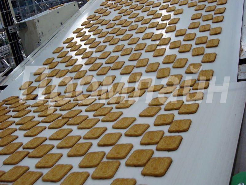 Конвейер ленточный для печенья