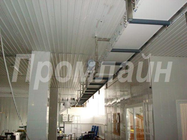 Подвесной ленточный конвейер Промлайн