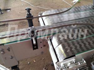 многоручьевой пластинчатый накопительный транспортер