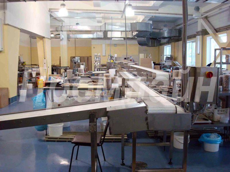 Конвейерная линия для фасовки и упаковки пресервов