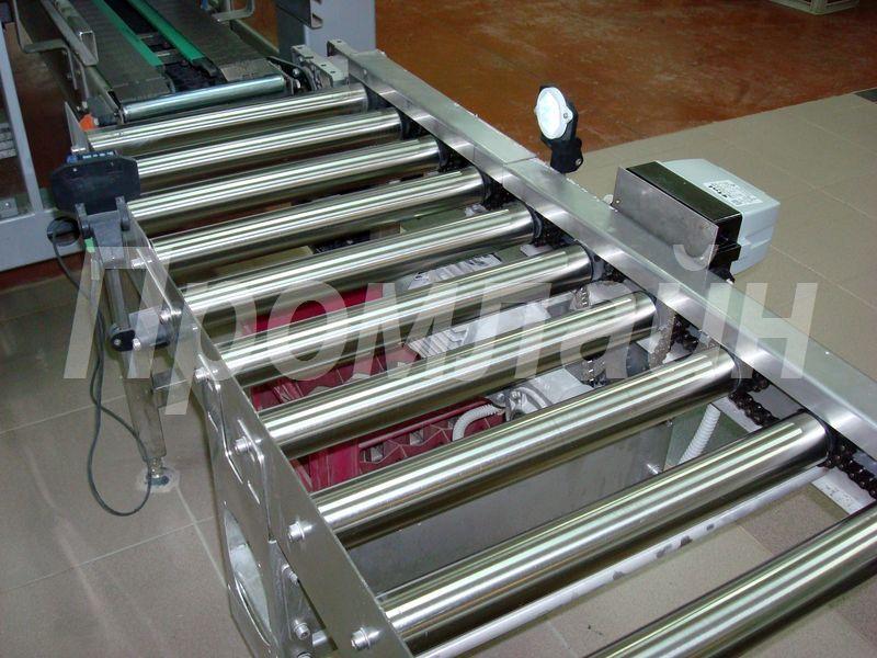 приводной роликовый конвейер