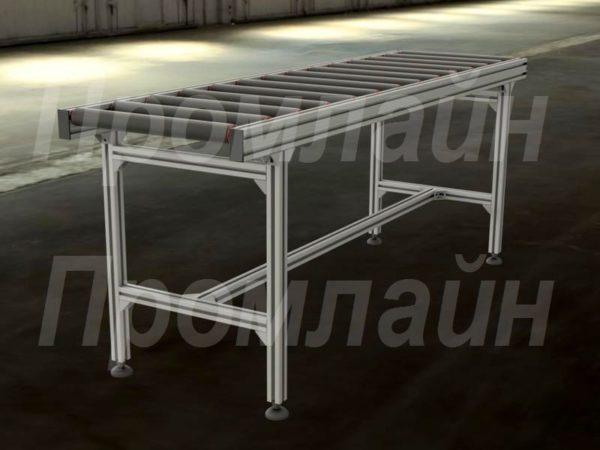 Рольганг из алюминиевого профиля Промлайн